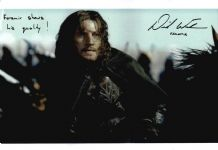 David Wenham Autograph Photo - Faramir